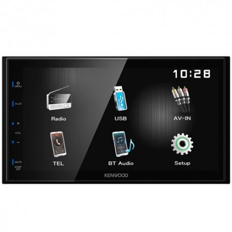 """KENWOOD DMX110BT Radio monitor, receptor de medios digitales de 6.8"""" con Bluetooth incorporado"""