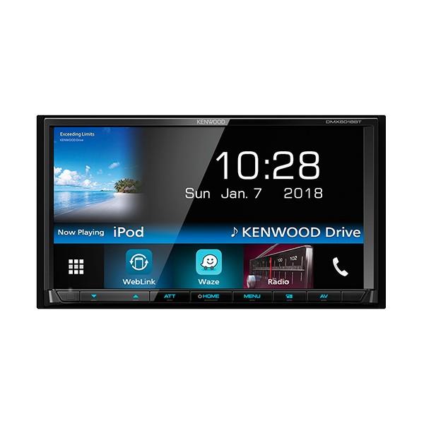 """KENWOOD DMX6018BT Receptor de medios digitales WVGA de 7 """"con Bluetooth"""