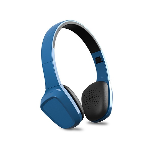 Auriculares Energy Headphones 1 bluetooth blue c/micro plegables