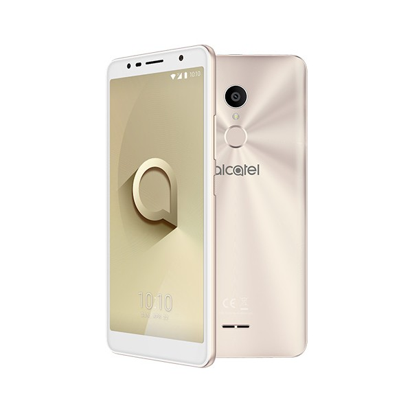 Telefono movil Alcatel 3C 5026D libre oro blanco metalico 6""