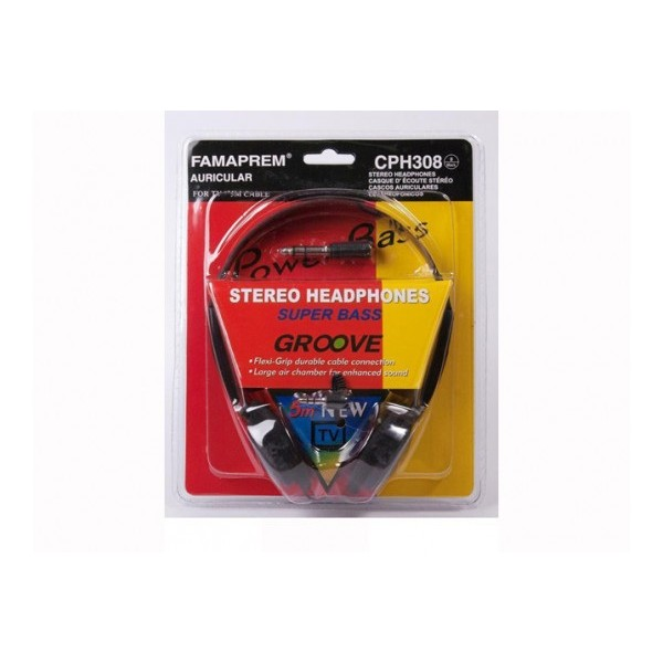 AURICULARES ARO TV 5m CABLE