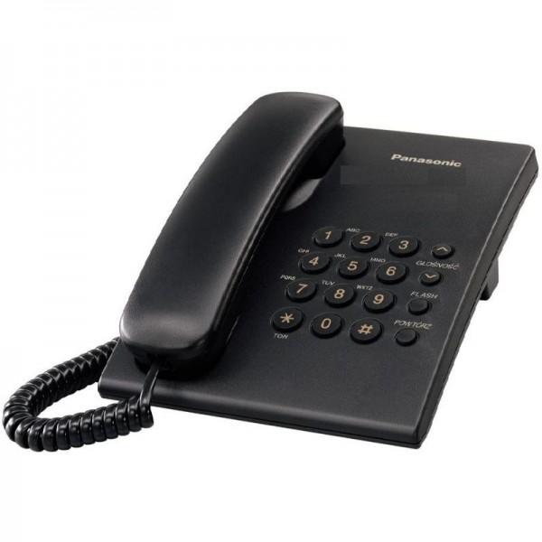Telefono Panasonic KXTS500  Black